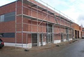 EMÜ Õppehoone ehitustööd