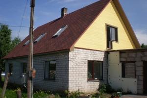 Eramu katuse ja katusealuse väljaehitus Palal