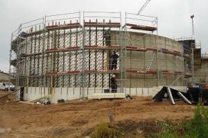 Ilmatsalu Biogaasijaama ehitus