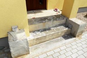 Lootuse 4 - Vana betoontrepi lammutus ja uue ehitus
