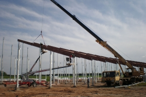 OÜ Melmilk Poka farmi ja OÜ Sadala Agro farmi veiselautade ehitustööd