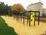 Mänguväljaku paigaldamine Tallinna Tehnikagümnaasiumile