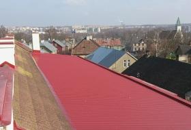 Tartu Kõrgema Kunstikooli katus